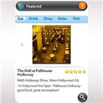Mobile by Citysearch Palm Pixi App