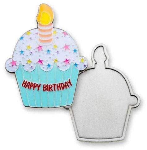 Happy Birthday Cupcake coin