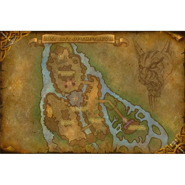 Finding The Lost City of the Tolvir and Defeating General Husam
