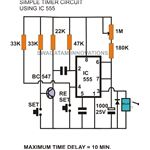 555 timer circuit diagram, image