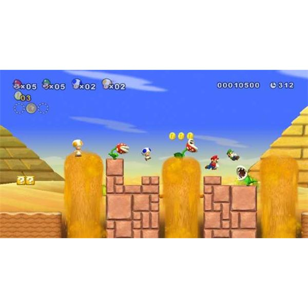 New Super Mario Bros Cheats For Wii Game Yum