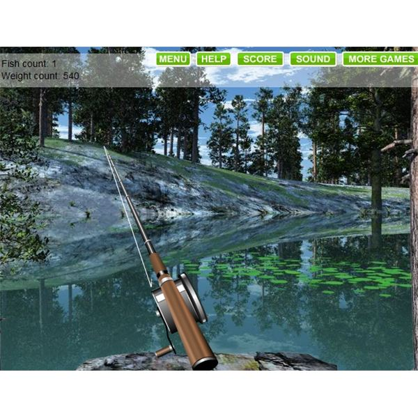 Best free fishing games to play and bass fishing games for Lake fishing games