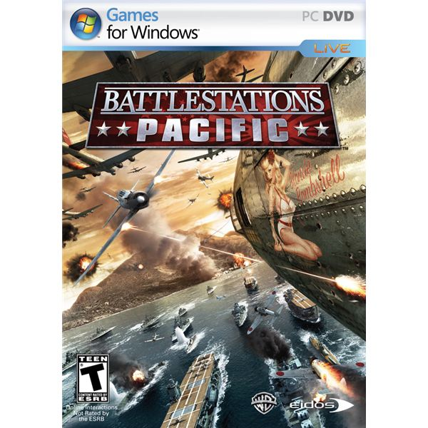 Battlestations Pacific takes you back to a violent time