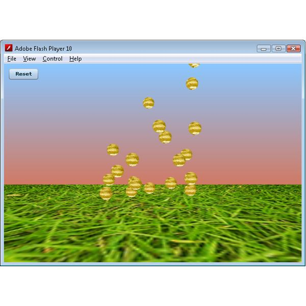 Away3D Screenshot