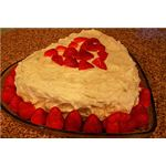 A special Valentines Day cake.