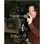 """Film director Nick Palumbo on set"" by Hornick Films/Wikimedia Commons"