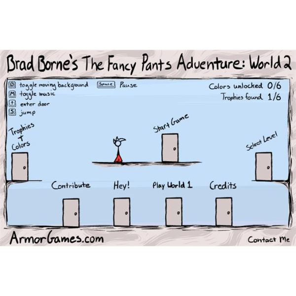 Fancy Pants Adventures: World 2 - Indie Game Review