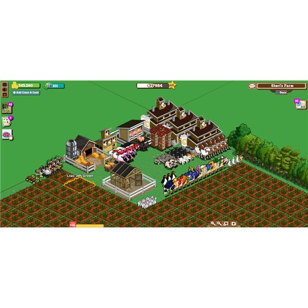 Zynga Farmville Screenshot