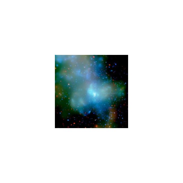 Chandra X-ray Observatory Takes A Look at the Center of the Milky Way