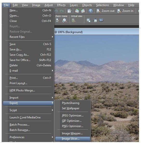 Select Image Slicer