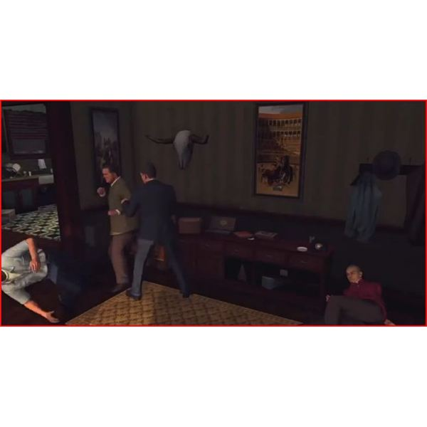 The Fistfight at Angel's Apartment