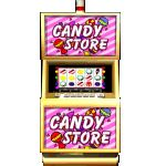 Free slot games such as Candy Store are available at Free Slots.