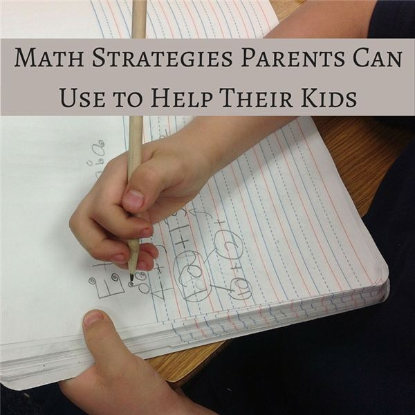Math Strategies Parents Can Use to Help Their Kids