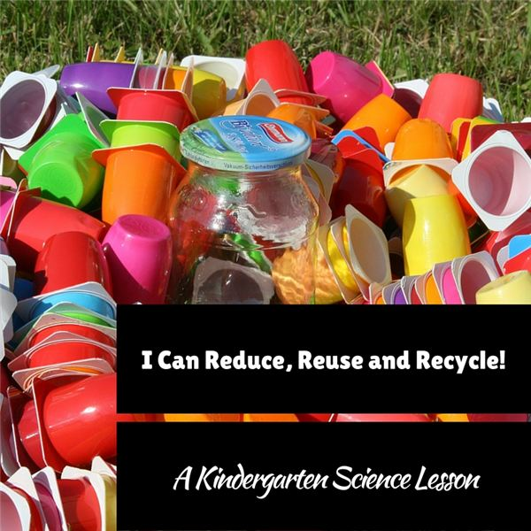 I Can Reduce, Reuse and Recycle!