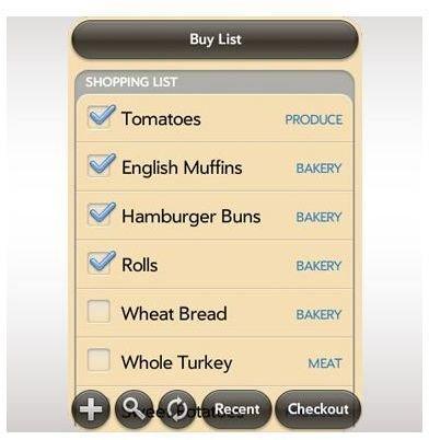 Grocery List Palm Pixi App