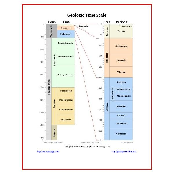 Geological Time Line