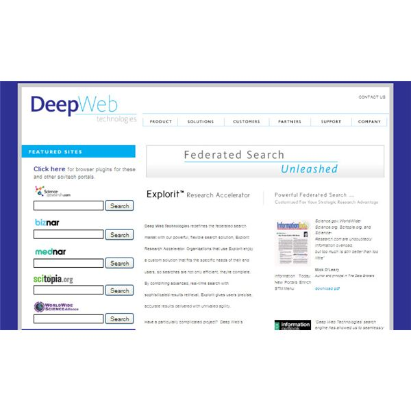 Are Search Engines Making Students >> Suggested Deep Web Search Engines for Academic or ...