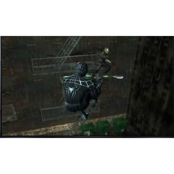 Excellent 3D Graphics in Spiderman 3--The Battle Within