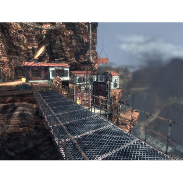 Damnation PC Game Act 2 Mission 2 -- Another Airship Ride in this Steampunk Game