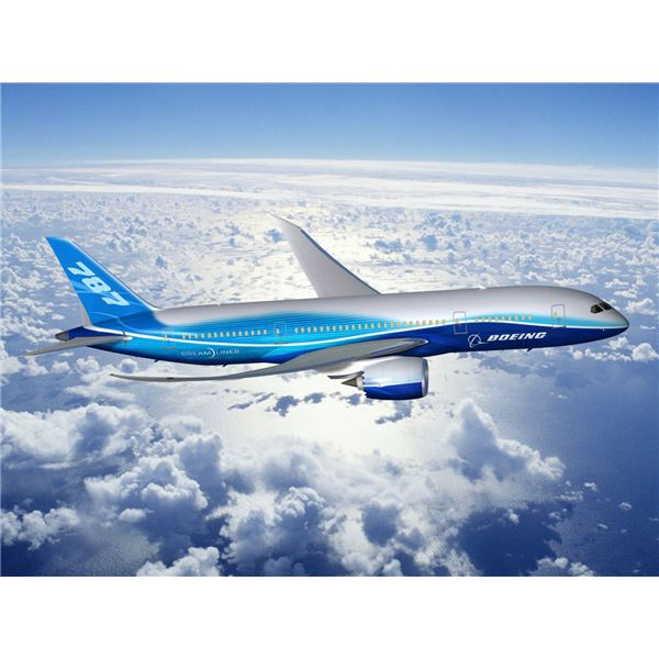 Boeing 787 Dreamliner courtesy of www.freedesktopwallpapers4u.com