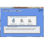 User Interface of Data Recovery Wizard