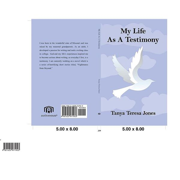 A sample book cover.
