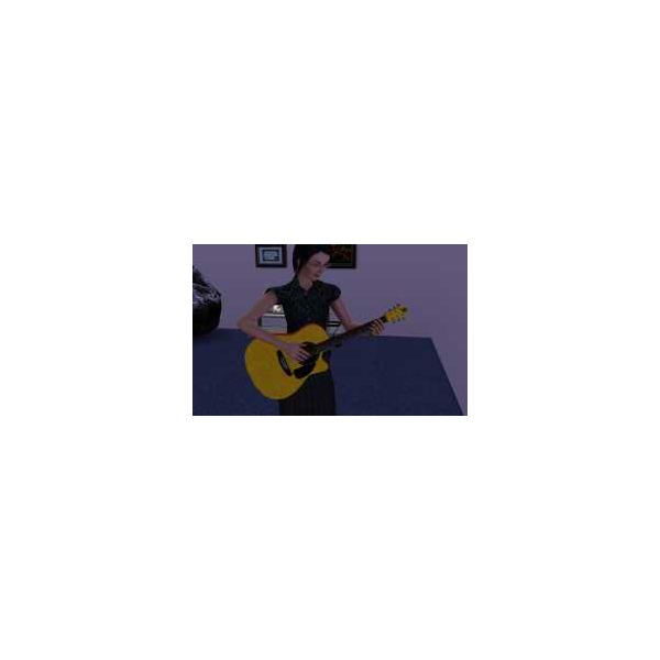 Sims 3 Guide to Guitar - acoustic calrsims