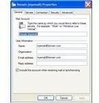 Windows Live Mail Properties