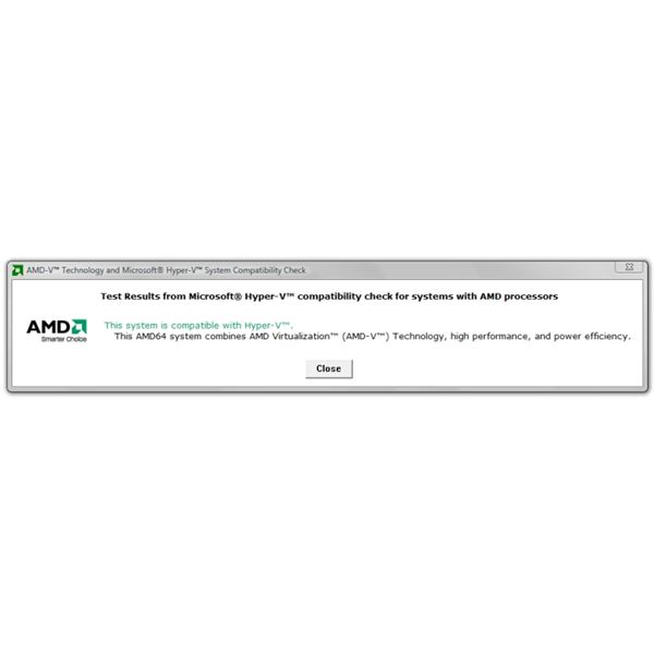 AMD System Compatibility Check