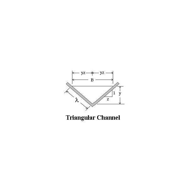 Triangular Channel