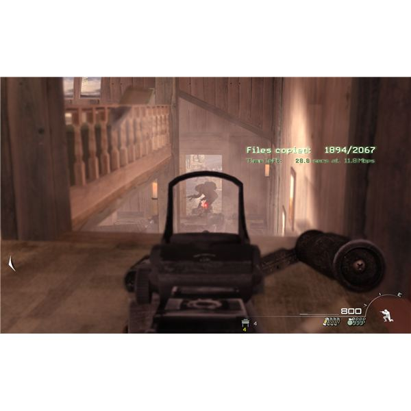 Call of Duty: Modern Warfare 2 - Loose Ends - The Top of the Stairs is Perfect for Defending the Safehouse