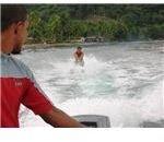water skiing Bahia Solano El Valle June 2006 340