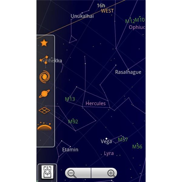 Top Android Applications - Google Sky Map