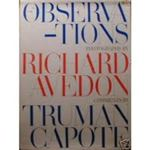 Observations by Truman and Avedon