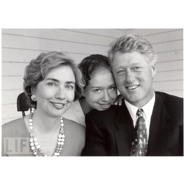 President Bill Clinton and Family