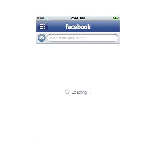 Frozen Facebook App