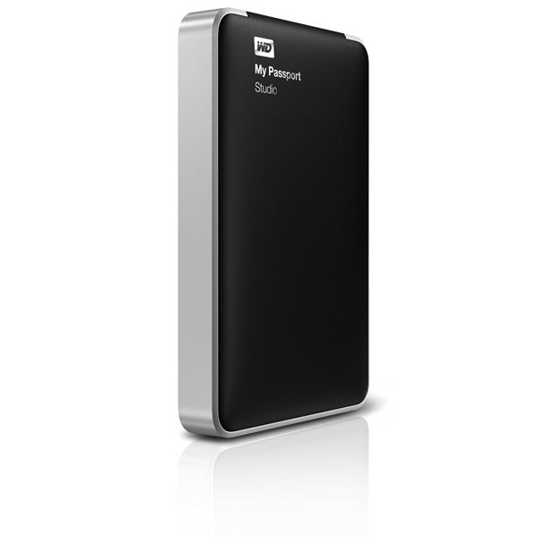 Slimline features for the Western Digital My Passport Studio