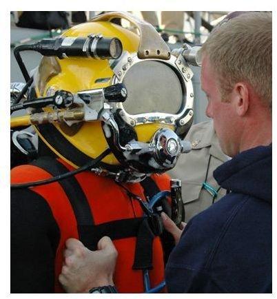 A US Navy Diver