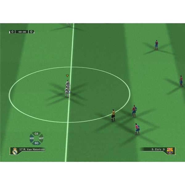 Get the Most of Your Team in FIFA09 - Real Madrid Tactics