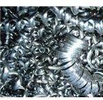Long Chips of steel