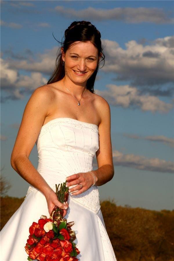 Sunbathed Bride