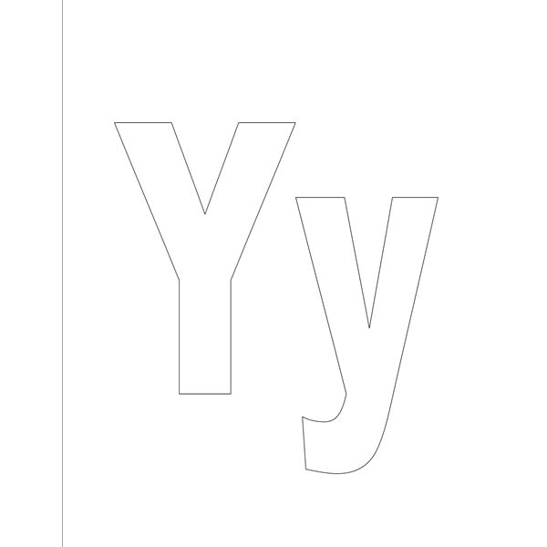 Activities on the Letter Y for Preschoolers