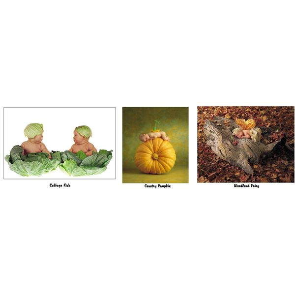 Baby pictures of Anne Geddes