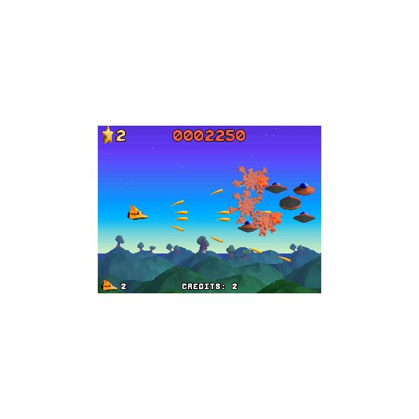 platypus multi-shooter power up screen