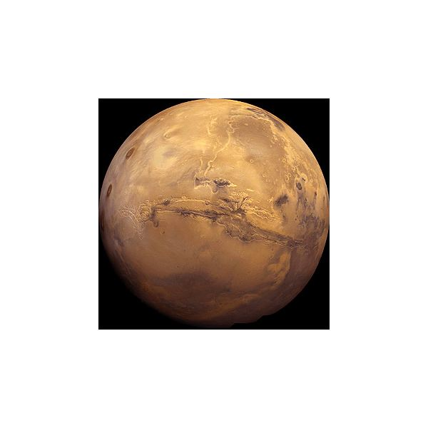 Global view of Valles Marineris