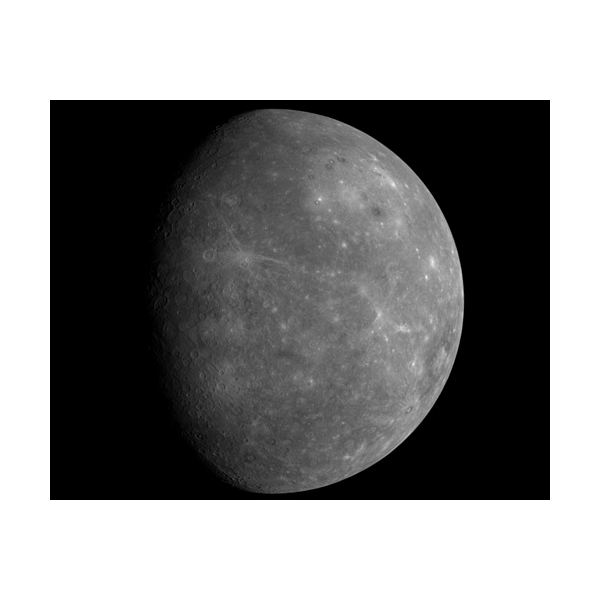 MESSENGER First Look at Unseen Side of Mercury