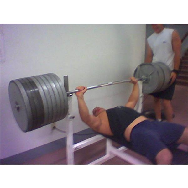 Who Has The World Record For Most Bench Press Weight