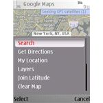 Handy Menu in Using Google Maps for Nokia