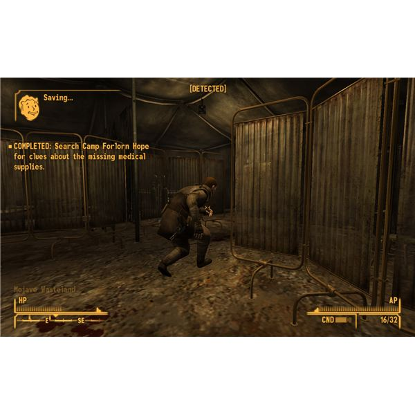 Fallout: New Vegas Walkthrough - Catching Private Stone at Camp Forlorn Hope