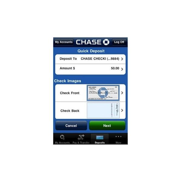 Chase Iphone App Review